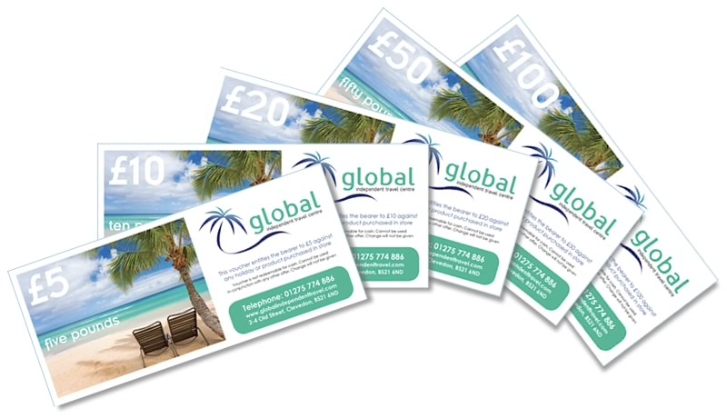 Gift Vouchers - Global Independent Travel Centre