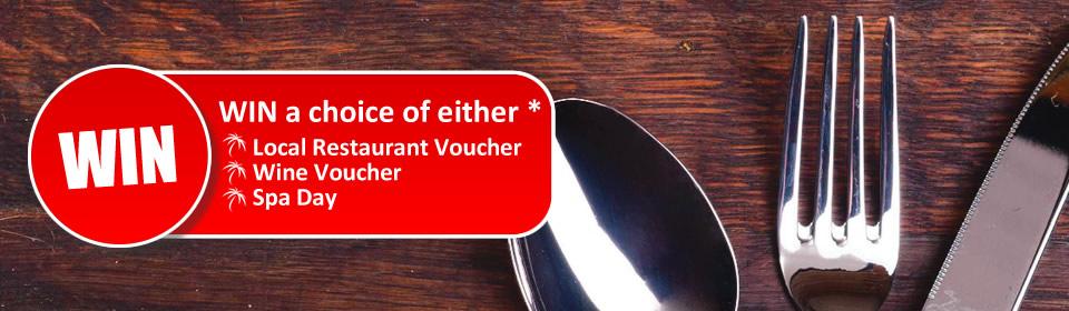 Win a restaurant voucher