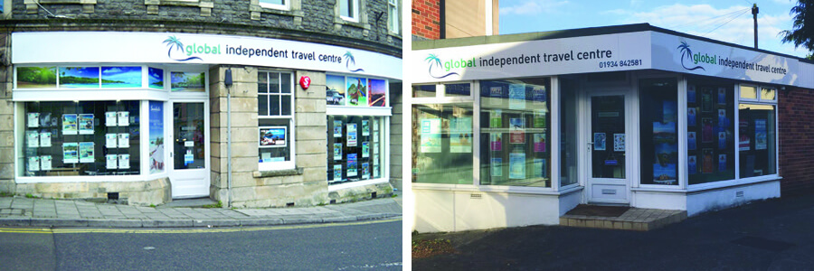Clevedon and Winscombe Travel Shops